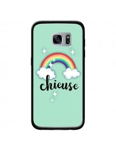 Coque Chieuse Arc en Ciel pour Samsung Galaxy S7 - Maryline Cazenave