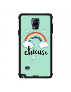 Coque Chieuse Arc en Ciel pour Samsung Galaxy Note 4 - Maryline Cazenave