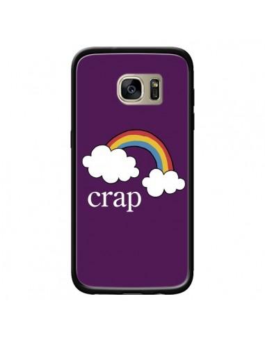 Coque Crap Arc en Ciel pour Samsung Galaxy S7 Edge - Maryline Cazenave
