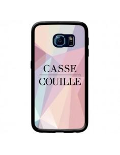 Coque Casse Couille pour Samsung Galaxy S6 Edge - Maryline Cazenave