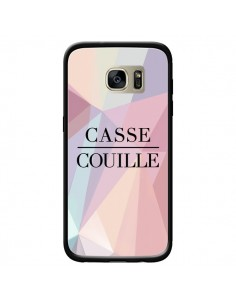 Coque Casse Couille pour Samsung Galaxy S7 Edge - Maryline Cazenave