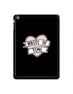Coque Waste of Time Coeur pour iPad Air - Maryline Cazenave