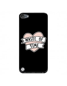 Coque Waste of Time Coeur pour iPod Touch 5/6 et 7 - Maryline Cazenave