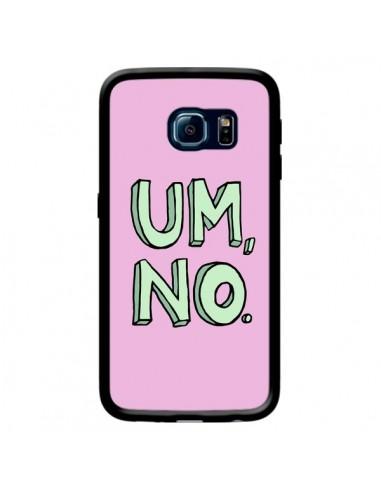 Coque Um, No pour Samsung Galaxy S6 Edge - Maryline Cazenave