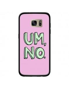 Coque Um, No pour Samsung Galaxy S7 Edge - Maryline Cazenave