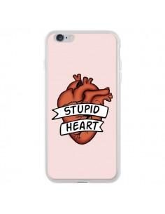 Coque iPhone 6 Plus et 6S Plus Stupid Heart Coeur - Maryline Cazenave