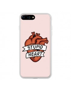 Coque iPhone 7 Plus et 8 Plus Stupid Heart Coeur - Maryline Cazenave