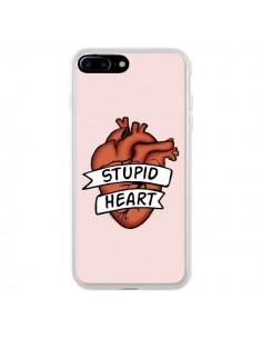 Coque Stupid Heart Coeur pour iPhone 7 Plus et 8 Plus - Maryline Cazenave