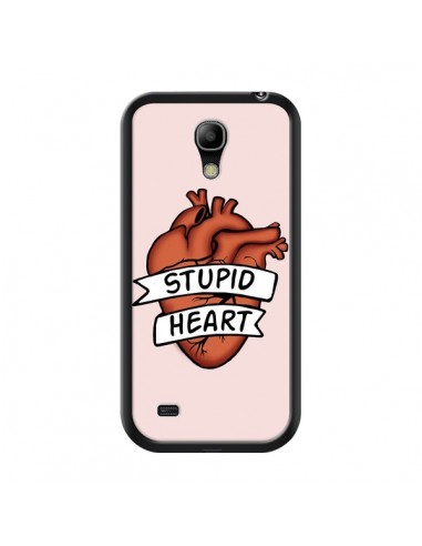 Coque Stupid Heart Coeur pour Samsung Galaxy S4 Mini - Maryline Cazenave