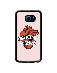 Coque Stupid Heart Coeur pour Samsung Galaxy S6 - Maryline Cazenave