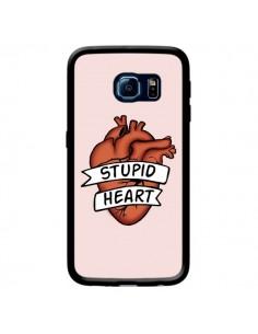 Coque Stupid Heart Coeur pour Samsung Galaxy S6 Edge - Maryline Cazenave
