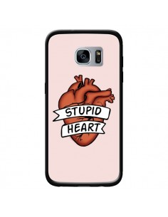 Coque Stupid Heart Coeur pour Samsung Galaxy S7 - Maryline Cazenave