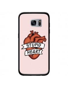 Coque Stupid Heart Coeur pour Samsung Galaxy S7 - Maryline Cazenave