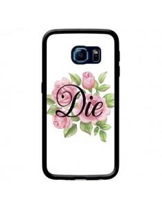 Coque Die Fleurs pour Samsung Galaxy S6 Edge - Maryline Cazenave