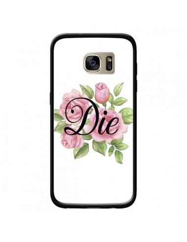 Coque Die Fleurs pour Samsung Galaxy S7 Edge - Maryline Cazenave
