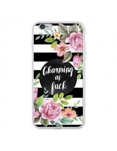 Coque iPhone 6 Plus et 6S Plus Charming as Fuck Fleurs - Maryline Cazenave