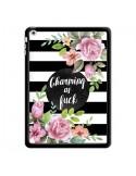 Coque Charming as Fuck Fleurs pour iPad Air - Maryline Cazenave