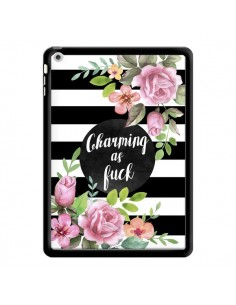 Coque Charming as Fuck Fleurs pour iPad Air - Maryline Cazenave