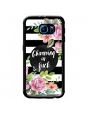Coque Charming as Fuck Fleurs pour Samsung Galaxy S6 - Maryline Cazenave