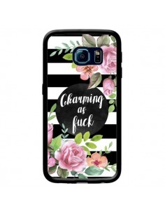 Coque Charming as Fuck Fleurs pour Samsung Galaxy S6 Edge - Maryline Cazenave
