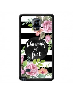 Coque Charming as Fuck Fleurs pour Samsung Galaxy Note 4 - Maryline Cazenave