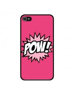 Coque Pow Bulles BD Comics pour iPhone 4 et 4S - Maryline Cazenave