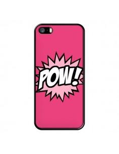 Coque Pow Bulles BD Comics pour iPhone 5/5S et SE - Maryline Cazenave