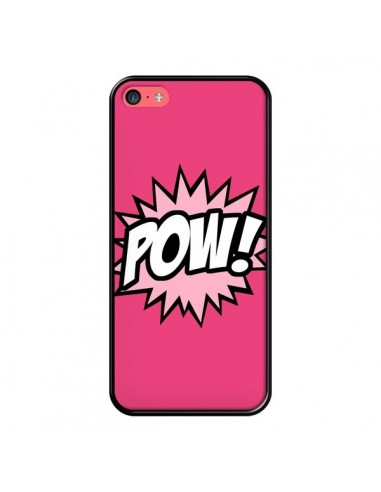 Coque iPhone 5C Pow Bulles BD Comics - Maryline Cazenave