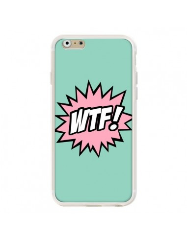 Coque iPhone 6 et 6S WTF Bulles BD...