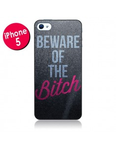 Coque Beware of the Bitch pour iPhone 5 - Javier Martinez