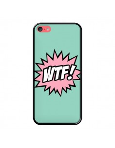 Coque iPhone 5C WTF Bulles BD Comics - Maryline Cazenave