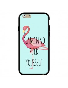 Coque Flamingo Fuck Yourself pour iPhone 6 et 6S - Maryline Cazenave