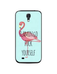 Coque Flamingo Fuck Yourself pour Samsung Galaxy S4 - Maryline Cazenave
