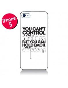 Coque Feelings Sentiments Emotions pour iPhone 5 - Javier Martinez