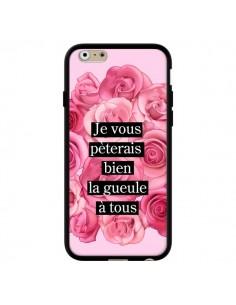 Coque Je vous pèterais Fleurs pour iPhone 6 et 6S - Maryline Cazenave