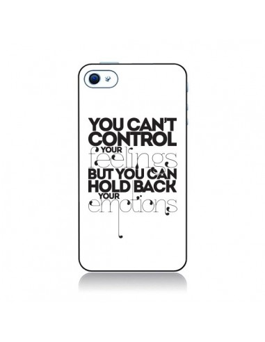 Coque Feelings Sentiments Emotions pour iPhone 4 et 4S - Javier Martinez