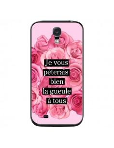 Coque Je vous pèterais Fleurs pour Samsung Galaxy S4 - Maryline Cazenave