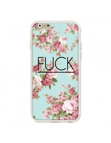 Coque iPhone 6 et 6S Fuck Fleurs -...