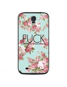 Coque Fuck Fleurs pour Samsung Galaxy S4 - Maryline Cazenave