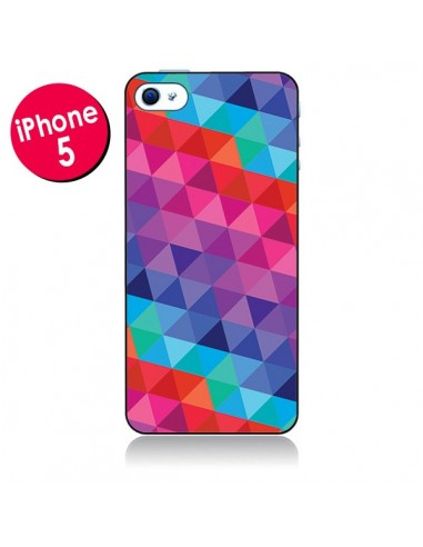 Coque Azteque Gheo Rose pour iPhone 5 - Javier Martinez