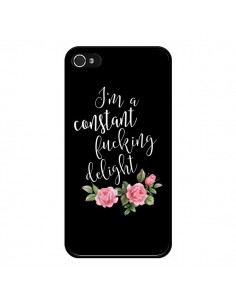 Coque Fucking Delight Fleurs pour iPhone 4 et 4S - Maryline Cazenave