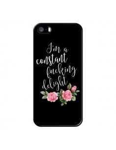 Coque Fucking Delight Fleurs pour iPhone 5/5S et SE - Maryline Cazenave