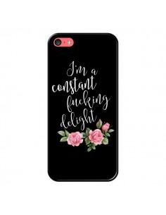 Coque Fucking Delight Fleurs pour iPhone 5C - Maryline Cazenave