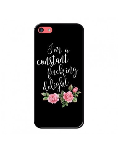 Coque iPhone 5C Fucking Delight Fleurs - Maryline Cazenave