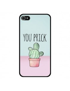 Coque iPhone 4 et 4S You Prick Cactus - Maryline Cazenave