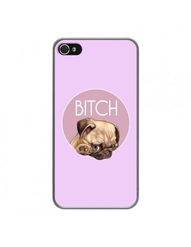 Coque iPhone 4 et 4S Bulldog Bitch -...