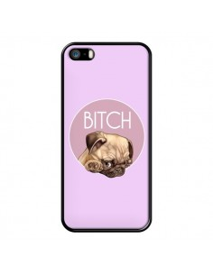 Coque Bulldog Bitch pour iPhone 5/5S et SE - Maryline Cazenave