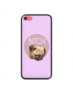 Coque Bulldog Bitch pour iPhone 5C - Maryline Cazenave