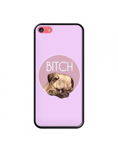 Coque iPhone 5C Bulldog Bitch -...