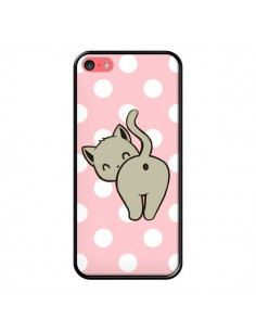 Coque Chat Chaton Pois pour iPhone 5C - Maryline Cazenave